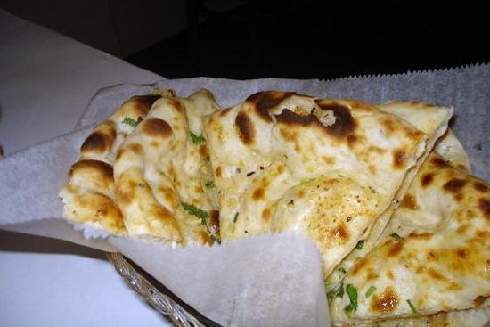 Mamaroneck, Nowy Jork: Garlic Naan