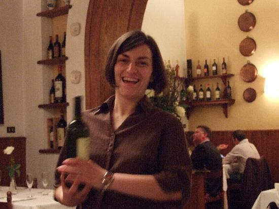 Antica Locanda di Sesto: Super waitress Federica