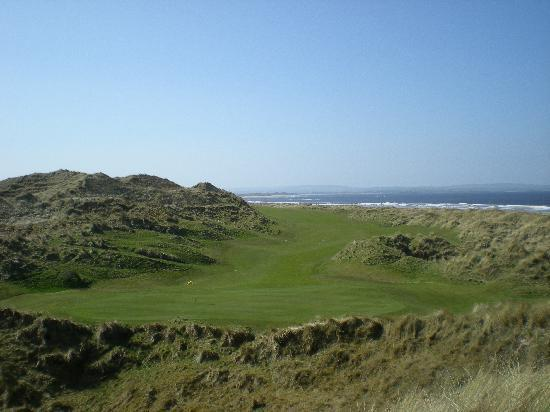 16th hole enniscrone GC