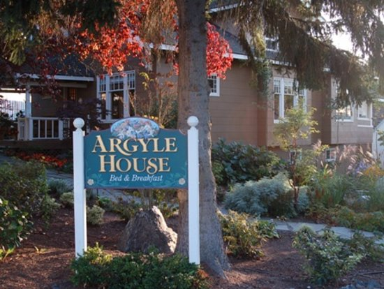 Argyle House Bed and Breakfast: Argyle House - 6 blocks from the ferry landing
