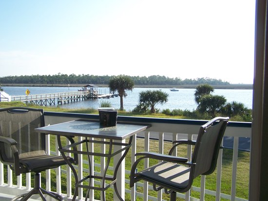 Steinhatchee, FL: View from Balcony