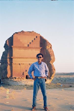 Madain Saleh ( other name Al-Hijr), located in the Al Madinah Region, Saudi Arabia