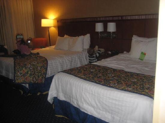Courtyard Chicago Wood Dale/Itasca : comfy beds, nice decor