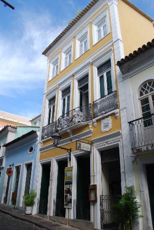 Hotel Casa do Amarelindo: Frente del Hotel