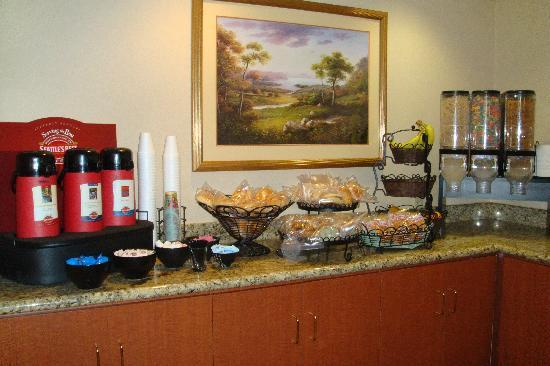 BEST WESTERN Inn: Complimentary breakfast