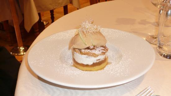 """Ottrott, Fransa: Un """"chaud-froid"""" de dessert pour les papilles et les yeux !"""