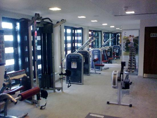 Doubletree by Hilton Hotel Leeds City Centre: Fitness suite