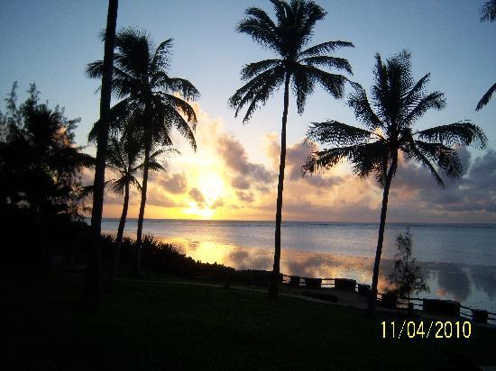 Vasco da Gama : sunrise