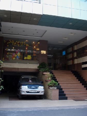 Lac Vien Hotel : Hotel von aussen