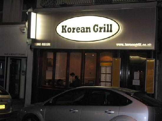 Korean grill. Picture gotten from (koreangrill.co.uk)