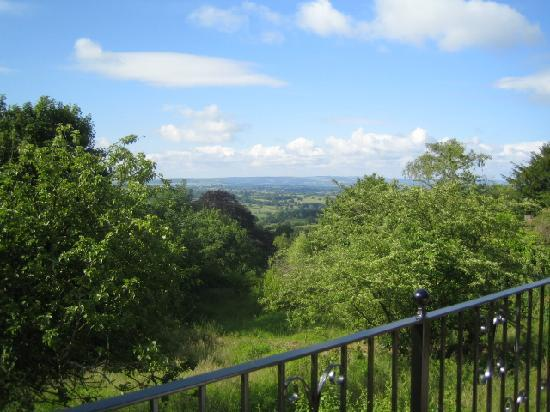 The Old Farriers: View of Dorset Vale from verandahs