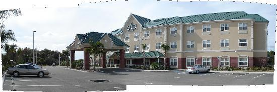 Country Inn & Suites By Carlson, Bradenton at I-75: Three Stories, Interior Corridors