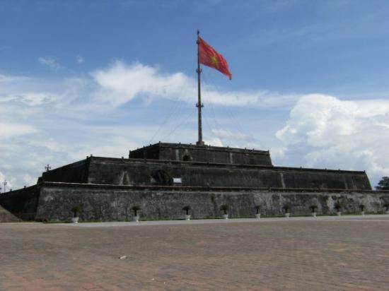 Det keiserlige citadell: Hue Citadel (First Royal Palace of VN) Hue, Central Vietnam