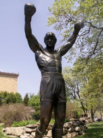 Philadelphia, Pensilvanya: ROCKY! ROCKY! ROCKY!