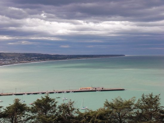 "Oamaru, New Zealand: view from ""look out point"""