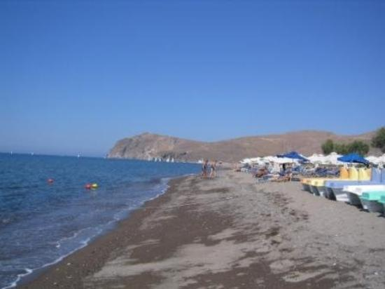Skala Eresou, Grecia: The black volcanic sandy beach - Skala Eressos