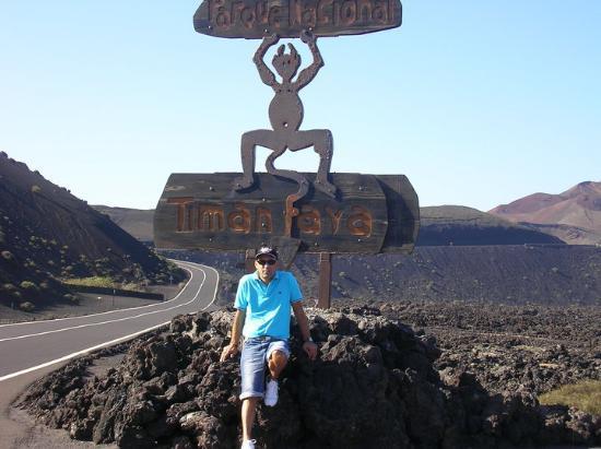 Parque Nacional De Timanfaya Lanzarote Foto De