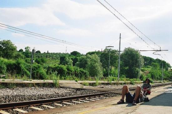 Asti, إيطاليا: Railway Station in Asti, Italy