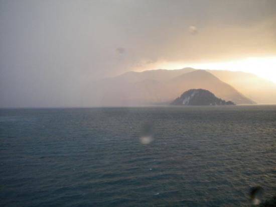 Varenna, إيطاليا: Maltempata f'Varenna 2009, Lago di Como