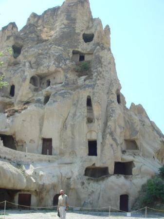 Cappadocia Cave Dwellings : cave cities, Cappadoccia