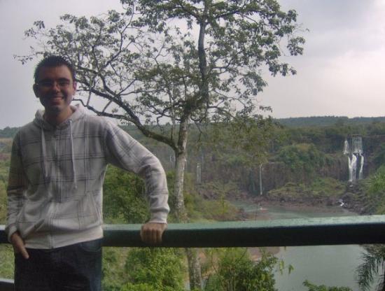 Foz do Iguacu, PR: Cataratas del Iguacu  Es war ein wenig feucht an dem Tag :)