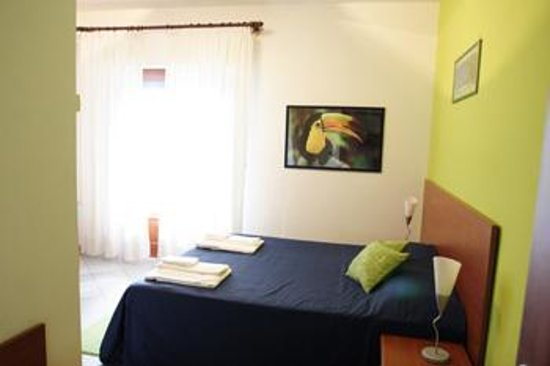 Bed & Breakfast Morfeo: stanza verde