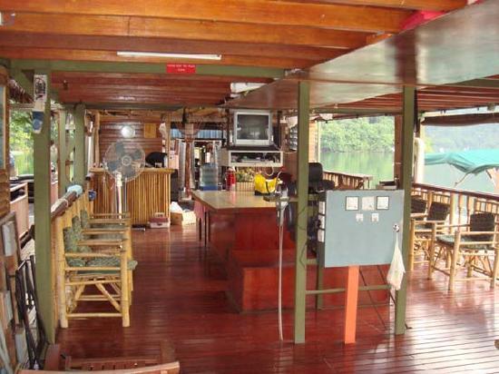 Tasik Temenggor Discovery Island: Boathouse