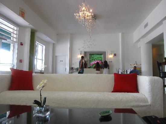 The President Hotel - Miami Beach: Lobby -- Trendy!