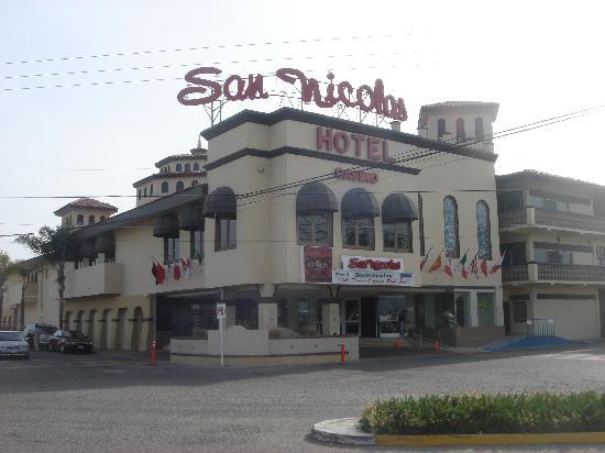 San Nicolas Hotel and Casino : Hotel front