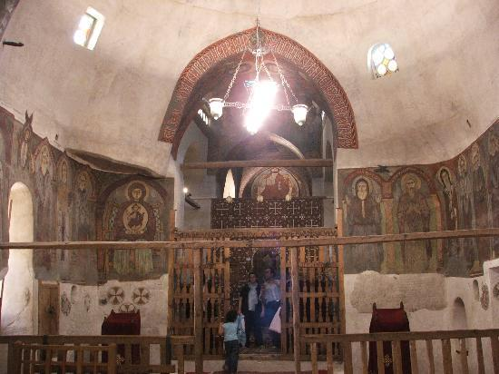 Mer Rouge et Sinaï, Égypte : Inside one of the churches