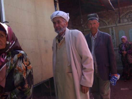 Shakhrisabz, Uzbekistan: Some of the people I met in the market.