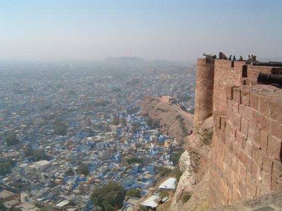 merhangar et la ville bleue jodhpur inde