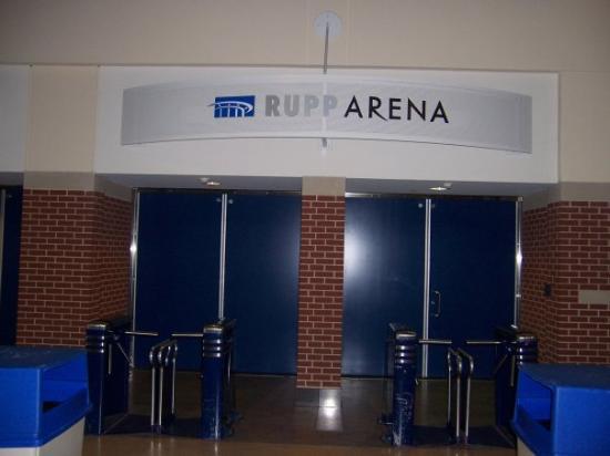 Entrance to Rupp Arena.