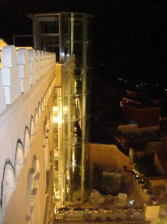 El Jebel Hotel: Vista dal Solarium in terrazzo