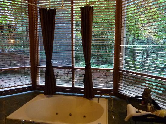 Linden Gardens Rainforest Retreat: The relaxing deep spa