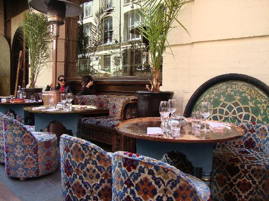 momos outside area - Picture of Momo, London - TripAdvisor