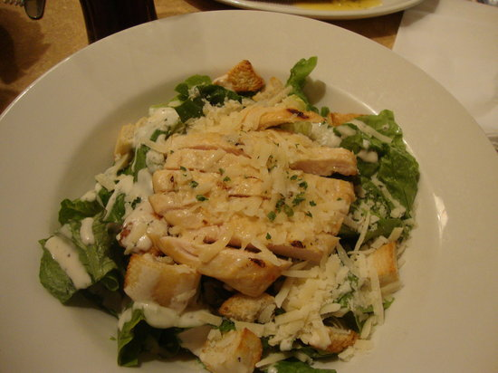 Cafe Rouge Wellington Street: chicken caeser salad