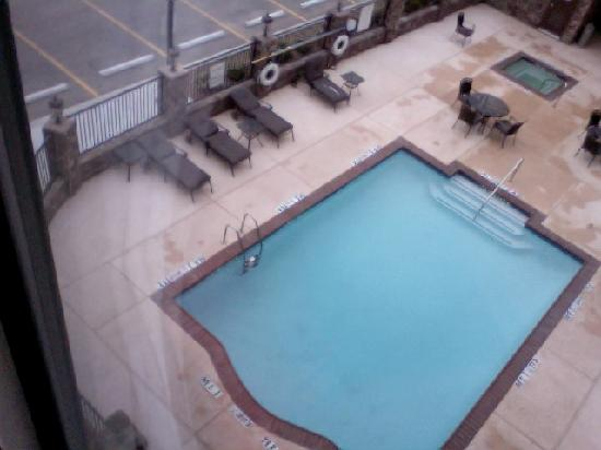 Holiday Inn Express Hotel & Suites Odessa: Pool from room 328