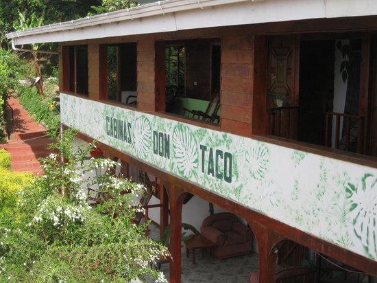 Hotel y Cabinas Don Taco: The hotel