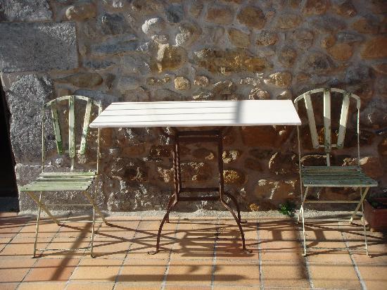 Casona de Quintana : Detalle terraza