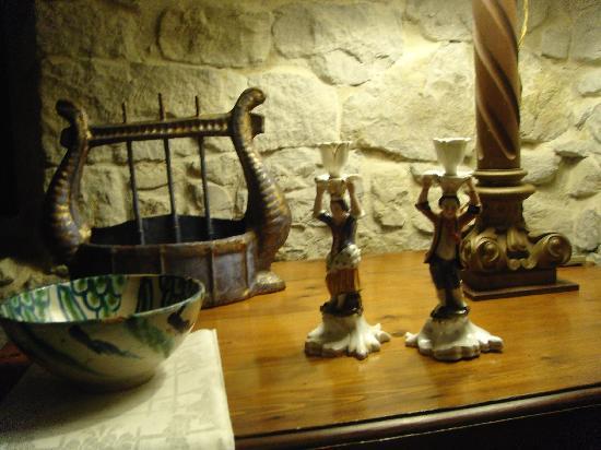 Casona de Quintana : Detalle salón de la Casona
