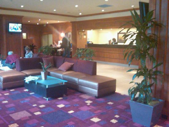 Beautiful lobby at the Holiday Inn Renton!