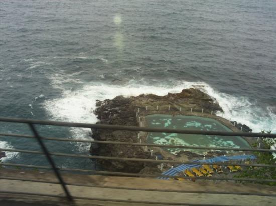 Santa Cruz de Tenerife, Espagne : piscinas naturales