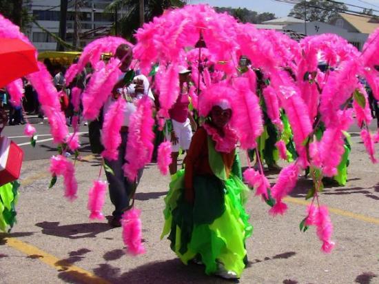 Puerto de España, Trinidad: Kiddies Carnival in Down Town Port of Spain