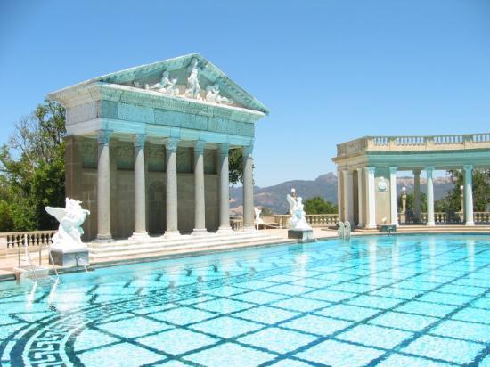 Сан-Симеон, Калифорния: Hearst CastleSan Simeon, Kalifornien, USA