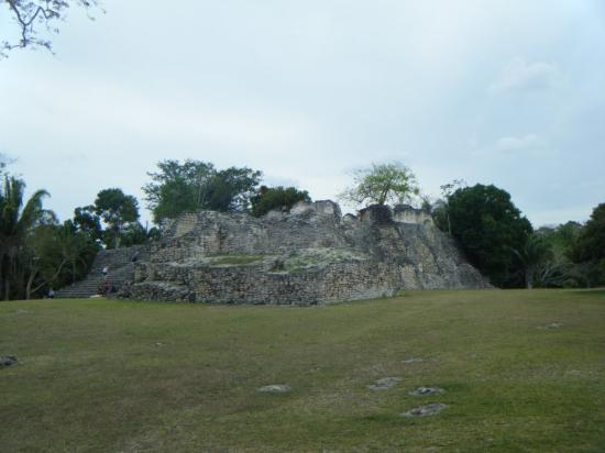 Kohunlich, Mexico: The site is of city built around 600 A.D. and abandoned in 1200 or 1300A.D. 