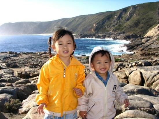 Albany, Avustralya: 让孩子们接触大自然的景色。