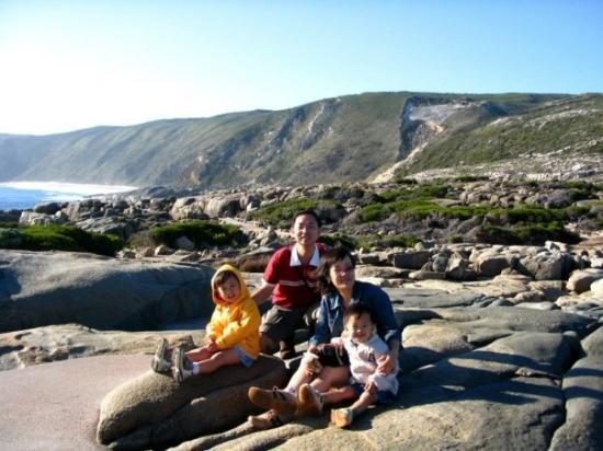 Άλπμπανι, Αυστραλία: 这是面向南极海的Albany海岸,风很大很舒服。