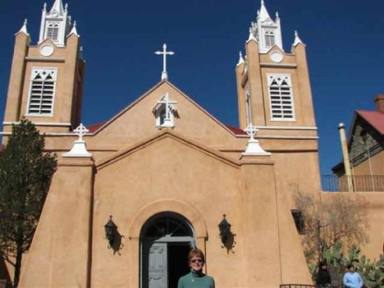San Felipe De Neri - oldest church in Albuquerque