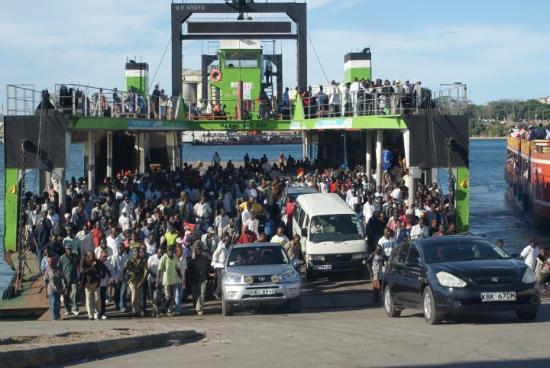 Ukunda, Kenya: Mombasa Ferry